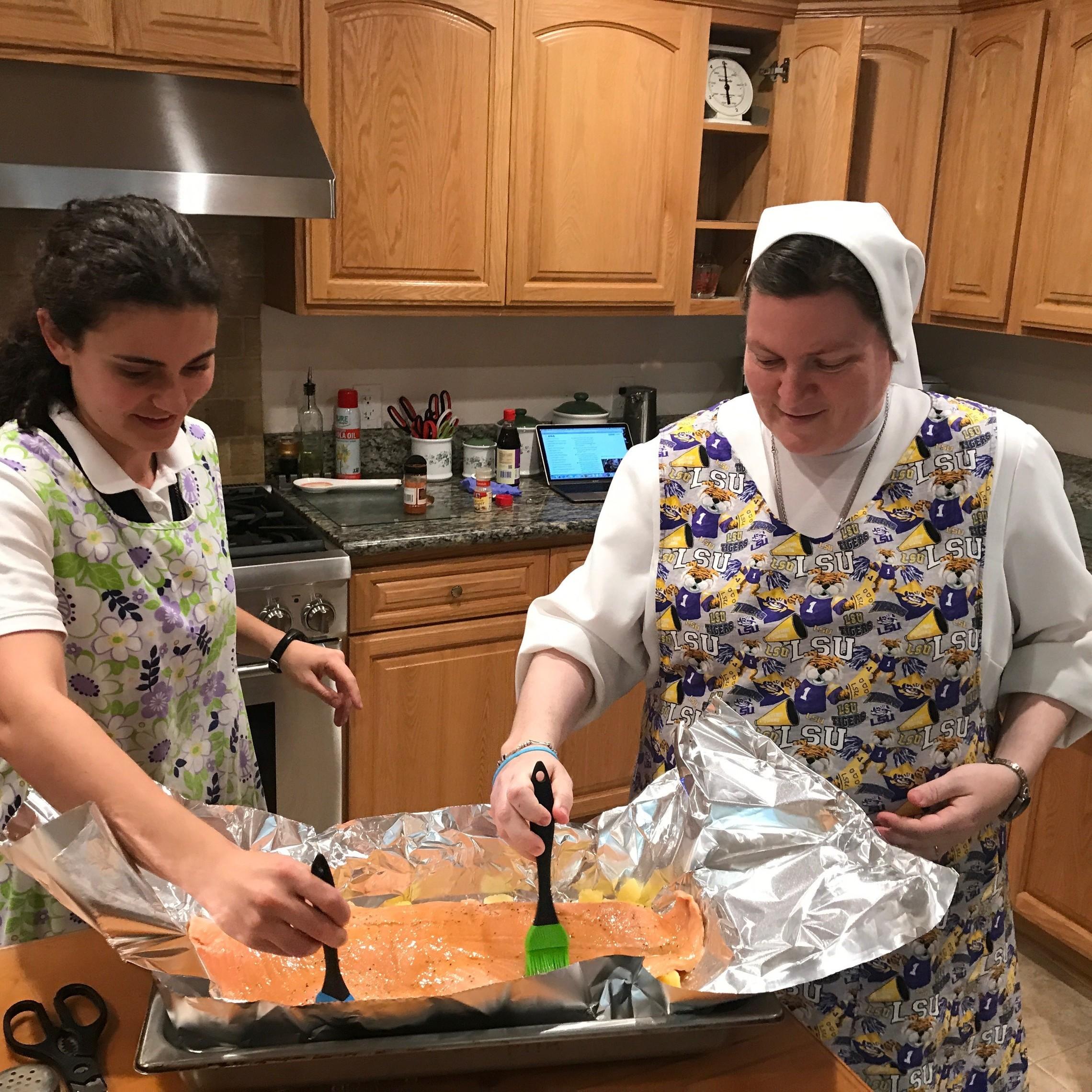 Cooking Postulants