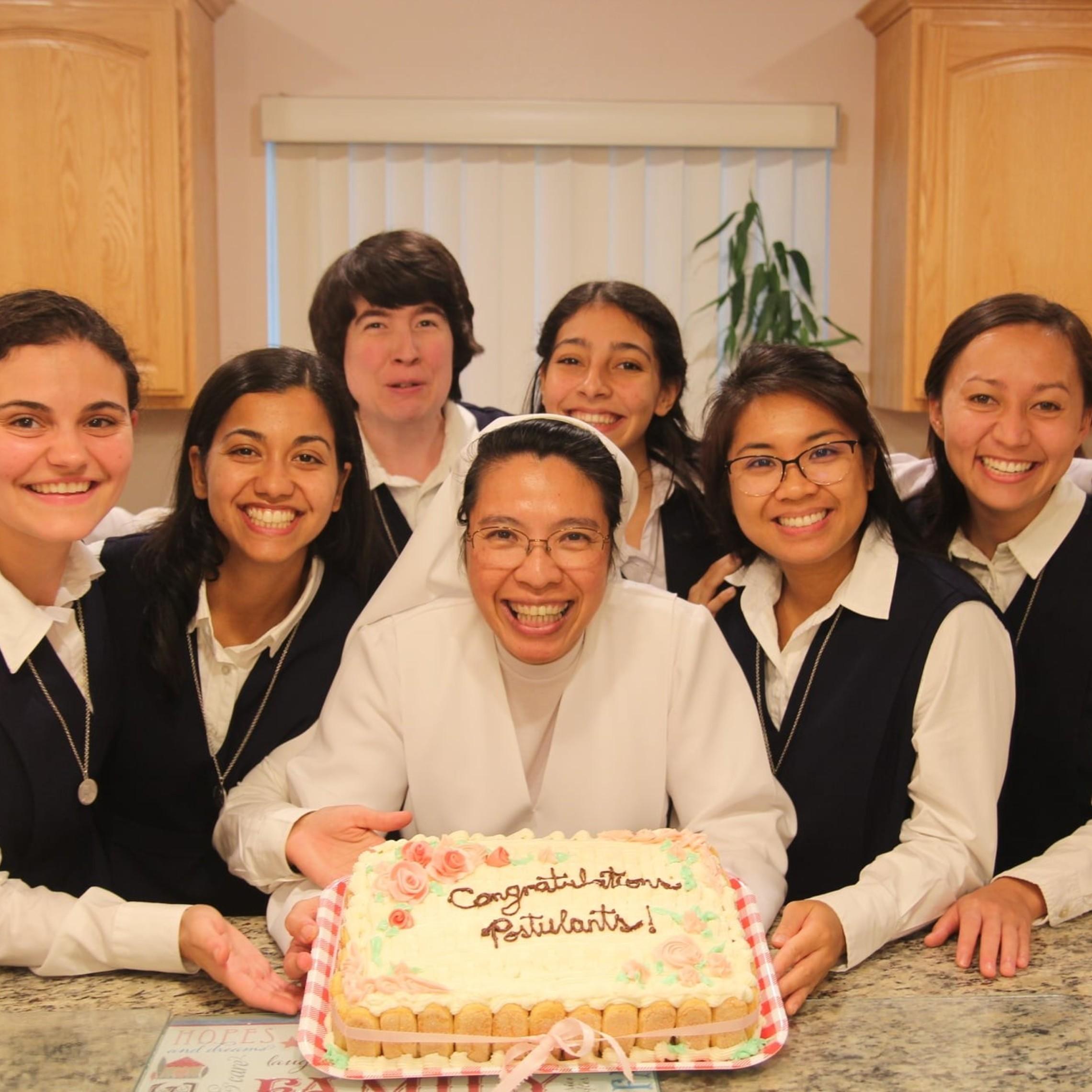 Postulants Cake