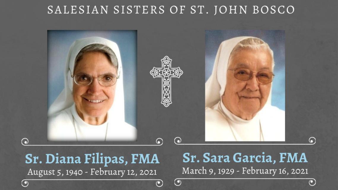 Sr. Diana Filipas Fma August 5 1940   February 12 2021 2