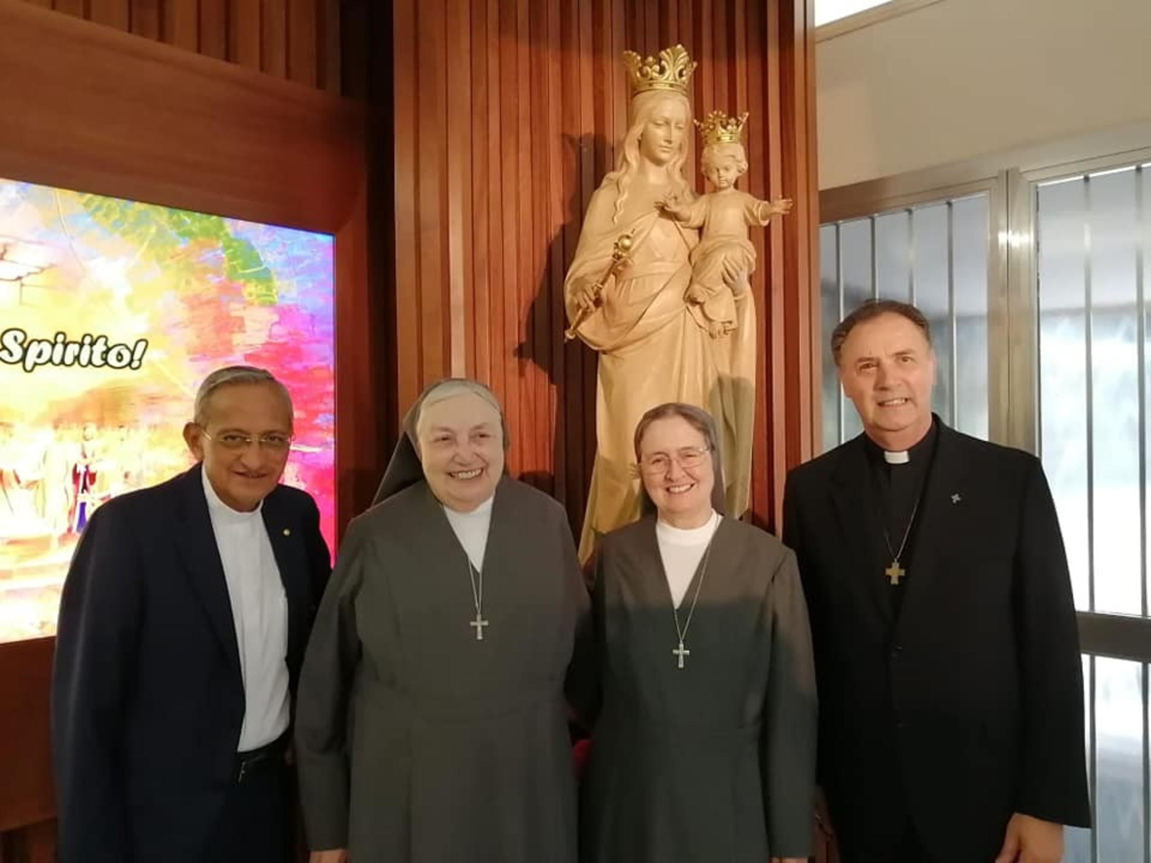 Mother Chiara and group