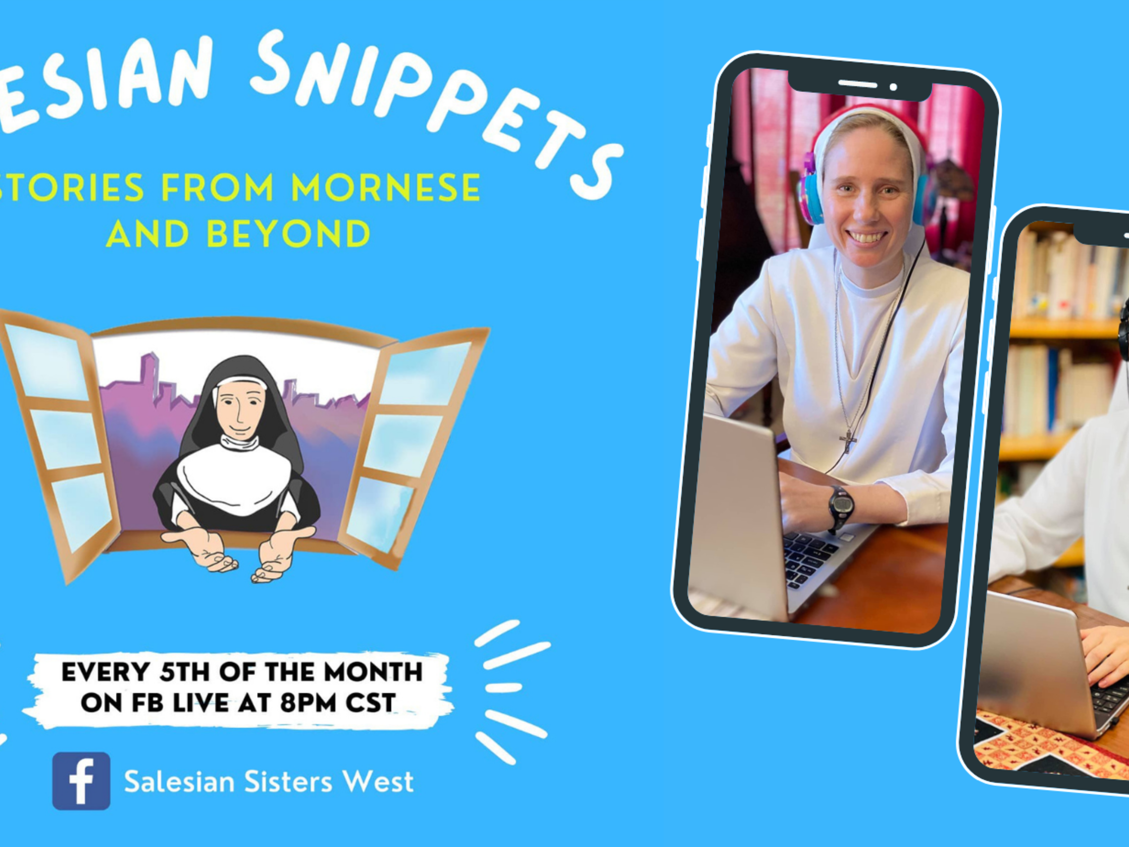 Salesian Snippets on Facebook Live!