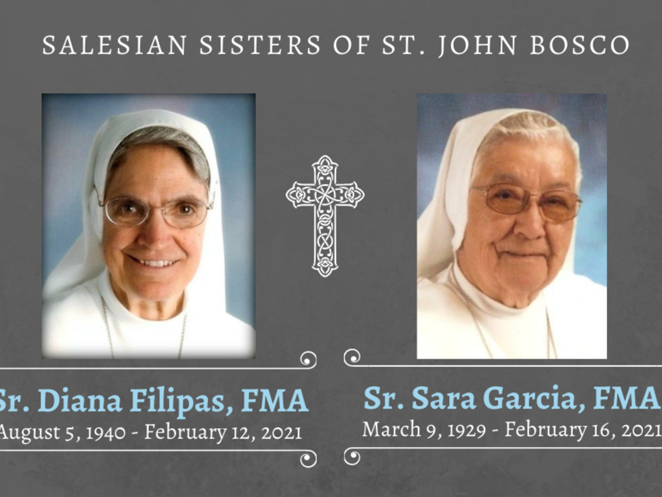 Sr. Diana Filipas Fma August 5 1940   February 12 2021 2